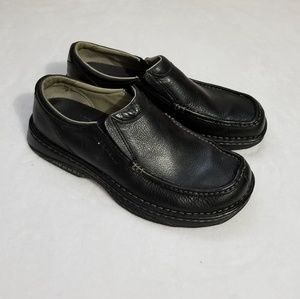 Merrell world atlas black loafer shoes